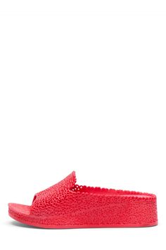Jeffrey Campbell Shoes FLING Sandals in Red