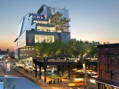 Whitney Museum of American Art, New York City | Renzo Piano Building Workshop | Photograph by Ed Lederman