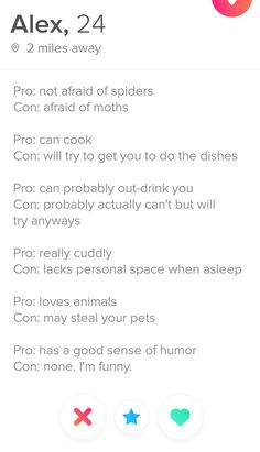 profilul de dating ironic