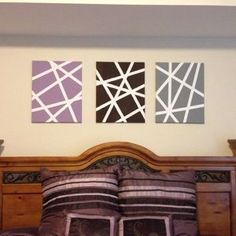 How to make DIY wall art via @Guidecentral - Visit www.guidecentr.al for more #DIY #tutorials