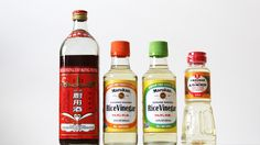 Rice wine, rice wine vinegar, rice vinegar, seasoned rice vinegar: say that three times fast. While these products sound pretty similar, they can't all be used interchangeably, and there are some important distinctions to be aware of.