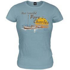 General Hospital - Port Charles Juniors T-Shirt