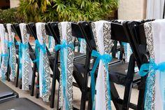 aqua Blue And White Wedding Decorations | bios.weddingbee.com