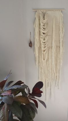 Wallhanging Weaving Mammoth II by Woodrowandco on Etsy