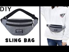 In this video DIY tutorial I show you an easy way to make the purse bag by own hands from scratch. ✂ Materials you need to make this DIY belt pouch bag: - fa. Fanny Pack Pattern, Bag Pattern Free, Backpack Pattern, Bag Patterns To Sew, Diy Belt Pouches, Diy Tote Bag, Diy Belts, Diy Bags Purses, Denim Handbags