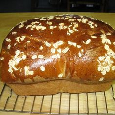 Really tasty- Honey Oat Bread (Bread Machine) Recipe