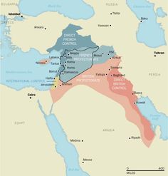 The 1916 European treaty to carve up the Middle East