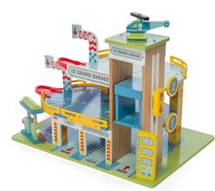 Le Grand Garage from Le Toy Van,  contact Voodle for NZ retailers