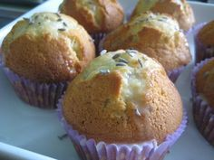 Muffins à la lavande