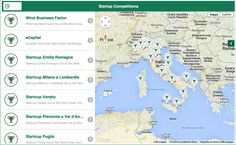 Mappa start-up competitions