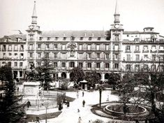 Plaza Mayor en 1919