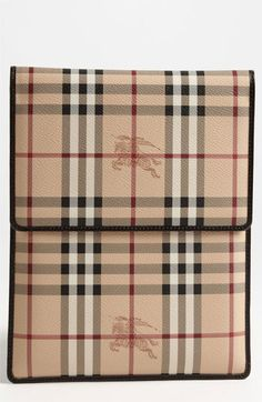 Burberry 'Haymarket Check' iPad Sleeve available at #Nordstrom