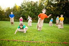 Awesome Kids Outdoor Games for Groups and Birthday Parties!