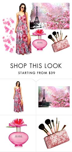 """""""Rain In The Spring Time"""" by bryleq4484 ❤ liked on Polyvore featuring beauty, Marc Jacobs and AERIN"""