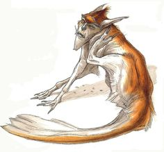 Character and Creature Design Notes: Welcome Terryl Whitlatch! Curious Creatures, Alien Creatures, Fantasy Creatures, Creature Concept Art, Creature Design, Terryl Whitlatch, Star Wars Characters Pictures, Beast Creature, Clash Of The Titans