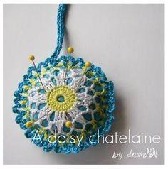Crochet Daisy Chatelaine
