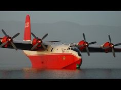 The Largest Production Flying Boat in The World - Martin JRM Mars