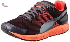 Puma séquence Mesdames Chaussures de Course Noir/Orange 7 UK - Chaussures puma (*Partner-Link)