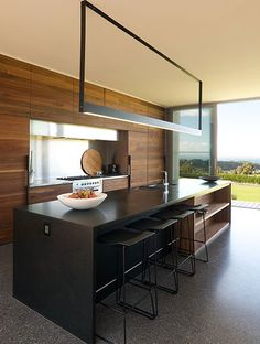 Shoreham House, Interior Architecture by SJB Architects Küchen Design, House Design, Interior Minimalista, Cuisines Design, Minimalist Kitchen, Home Living, Beautiful Kitchens, Beautiful Homes, Kitchen Lighting