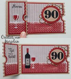 Creaties van Marjolein: Opa 90
