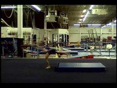 ▶ Front Handspring Video #7 - Front Leg Push B - YouTube