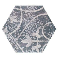 hexagon bloem