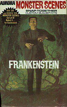 Aurora Monster Scenes - Frankenstein Monster (1971)