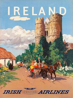 3fe79a06047e The Travel Tester vintage travel poster collection. It s time to get  nostalgic with this week s retro showcase  Vintage Travel Posters Ireland.