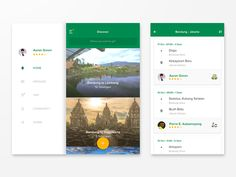Heyho my fellow designers, here's some WIP screen regarding my previous shot. This is a ride share app :)  Check @2x for the awesomeness! Cheers.