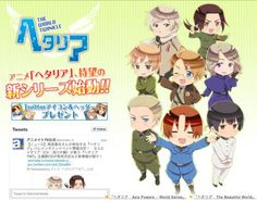 "he official website for the upcoming Hetalia The World Twinkle, the 6th anime adaptation of Hidekaz Himaruya's comedy manga series Hetalia: Axis Powers, today updated with a mini-chara version key visual. Meanwhile, the official Twitter account for the anime announced that the CD single of the theme song ""Hetalian☆Jet"" performed by Italy (CV: Daisuke Namikawa) is set to be released on July 24. Speculating from the release day, the 6th series may be streamed in this summer season?"