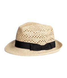 Strooien hoed
