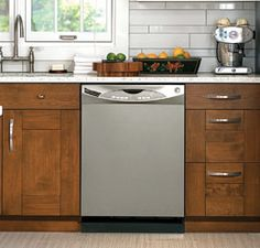 GE #Appliances now offers a Slate finish, which features a matte surface that repels smudges.