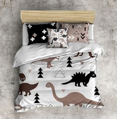 My First Lots Of Dinosaurs Kids Comforter Set