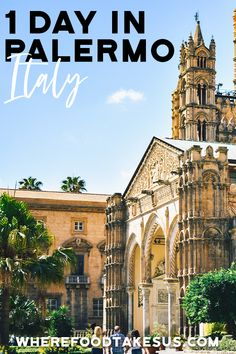 Look no further for a fantastic 1 day introduction to Palermo! From the street food to the some of the most unique buildings in Italy, Palermo is amazing! Verona Italy, Puglia Italy, Venice Italy, Italy Travel Tips, Rome Travel, Sicily Travel, Travel Info, Travel Europe, Travel Guides