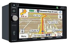 Jensen VX7022 2 DIN Multimedia Receiver, 6.2″ Touch Screen with Bluetooth, SiriusXM (Black)