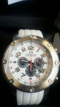 Men's TW STEEL watch Grandeur White Dial TW122 #TWSteel #Casual