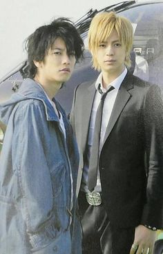 SatoTakeru and Miura Shohei