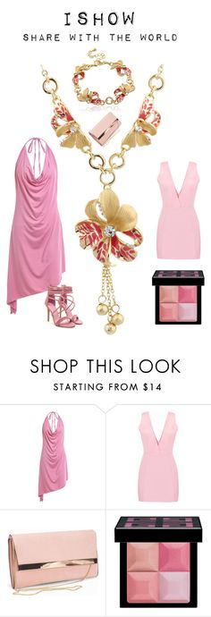 """""""Pinky princess set"""" by ishowyoushowhy on Polyvore featuring New Look and Givenchy"""