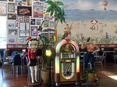 Legends captures a lot of Route 66 spirit as you await a burger, malt or other consumables that makes you proud to traverse Route 66.