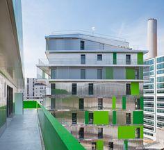 Villiot-Rapée Apartments / HAMONIC + MASSON