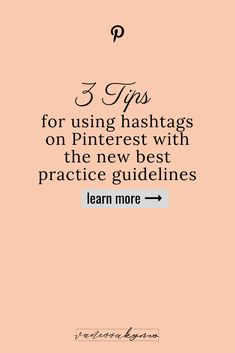 Do you know how to use hashtags on Pinterest?Hashtags can increase your results in Pinterest search to get more traffic back to your site. With the new best practices, it's now simpler than ever to use hashtags on Pinterest. #pinterestmarketing #hashtags Content Marketing, Social Media Marketing, Online Marketing, Marketing Strategies, Marketing Ideas, Digital Marketing, Business Tips, Online Business, How To Use Hashtags