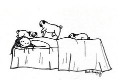 bedtime with pugs
