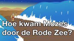 Hoe kwam Mozes door de Rode Zee (met tekst) - Bijbelliedjes