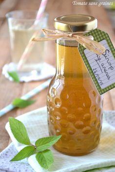 Tomate sans graines - Cuisine bio et green attitude !: Sirop de sauge ananas
