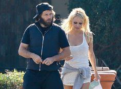 Pamela Anderson - Fournis par Voici