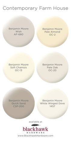 (Quick sound) Contemporary farm house interior paint colors by Benjamin Moore Yellow Paint Colors, Room Paint Colors, Exterior Paint Colors, Yellow Painting, Paint Colors For Home, Wall Colors, House Colors, Griege Paint Colors, Pale Yellow Paints