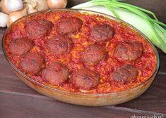 Sałatka z pomidorów na zimę - Obżarciuch Great Recipes, Grilling, Lunch Box, Pork, Food And Drink, Yummy Food, Meat, Ethnic Recipes, Kitchen