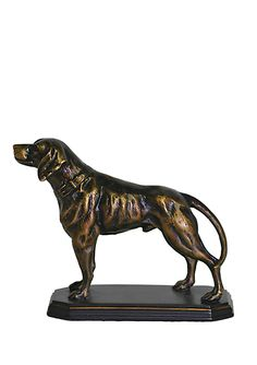 THE IMPORT COLLECTION  Hunting Dog Statue