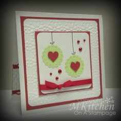 On A Stampage...: Convalescing is good for the crafter...