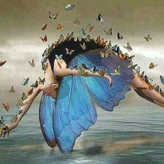 Dancing Art Painting Tutus 42 New Ideas Butterfly Wallpaper, Butterfly Art, Butterfly Quotes, Butterfly Kisses, Art Papillon, Ouvrages D'art, Wow Art, Fairy Art, Surreal Art